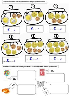 Locke: First class money cards Kids Education, Special Education, Math Games, Activities For Kids, Money Worksheets, Subject And Verb, Money Cards, Teaching French, Math For Kids