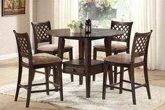 Round Counter Height Dining Table Set - http://homehz.net/round-counter-height-dining-table-set/ : #Furnitures Round Counter Height Dining Table Set – When it comes to furniture shopping, few benefit from the quest. Having to check out bed after bed, dining room table after dining table, really can grate in your nerves. How do one...