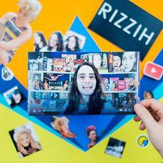 O Rizzih é youtuber, ator e cantor! #Scrapbooking #FazendoArteNaDia
