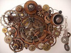 Steampunk Clock For Kelly by rasslinmiss, via Flickr