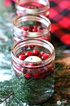 Make Christmas extra-special this year with these stylish centerpieces.