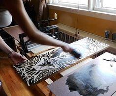 Printmaking is one of my favorite kinds of art. PrintSpecs  printmaking blog