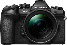 Olympus OM-D Mark II Flagship Camera's Pricing & Availability: World's Fastest Sequential Shooting, Full Resolution RAW Images at 60 fps in AF and AE Lock, 18 fps with Continuous AF and AE Tracking, MP Live MOS Sensor, 121 Points of All-Cross-Typ Rolleiflex Camera, Kodak Camera, Retro Camera, Dslr Cameras, Camera Photography, Light Photography, Distancia Focal, Image Mode, Waterproof Camera