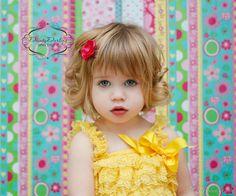 Baby Girl Hair clips  Wedding hair clips  by DaintyDarlingShop, $2.89 (love her hair!!!)