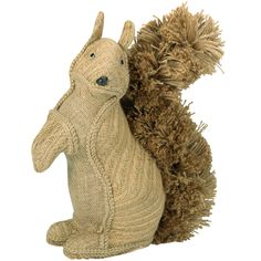 hessian squirrel decoration from Paperchase