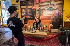 To commemorate the 20th Anniversary milestone of Warner Bros.' hit TV show Friends, Allied Experiential (and Source Marketing) created a pop-up shop in New York City. The shop, open for a month, is a replica of the show's iconic Central Perk coffee shop and includes a replica of the set from the show, a photo-op on the famous orange couch and an exhibit of cast wardrobe pieces and props.