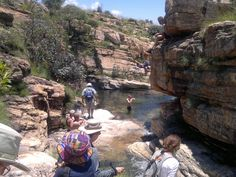 Hike - Castle Gorge, Magaliesburg Mountains - Adventure & Fun ... Amazing Adventures, Adventure Is Out There, South Africa, Castle, Hiking, Amp, Mountains, Nature, Travel