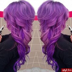 I really would love to have purple hair!!!!!