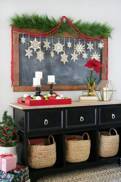 Modern and Fresh Christmas Decor by Blogger Rebecca of The Crafted Sparrow for Cost Plus World Market >> #WorldMarket Holiday Decor