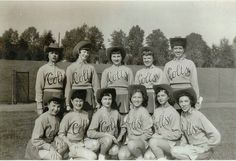 1954 Baltimore Colts.....first football team in the NFL to have Cheerleaders.