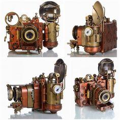 Steampunk Camera Turnarounds