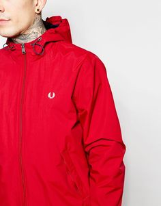 Fred Perry   Fred Perry Jacket with Hood at ASOS