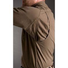 The Long Sleeve Twill Shirt has underarm gussets and a bi-swing back for freedom of movement. Soft, yet tough cotton twill wears hard.
