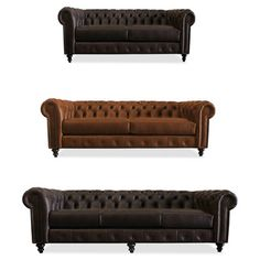 Made To Order Patrick Italian Leather Sofa   Overstock™ Shopping   Great  Deals On South