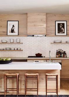 Modern Kitchen Design modern mountain lodge design at caldera house in jackson hole Home Decor Kitchen, Interior Design Kitchen, Modern Interior Design, New Kitchen, Home Kitchens, Kitchen Ideas, Basement Kitchen, Contemporary Interior, Room Kitchen