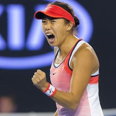 Zhang's fairytale run is over, but the quarterfinal appearance makes her Chinese No.1 player in the rankings #ausopen2016 #wtaranking