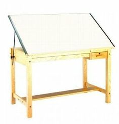 7707 : Mayline x Wood Drafting Table, No Drawers