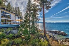HGTV takes you inside a Lake Tahoe home with a 30-foot pier, a private swimming area and an incredible deck.