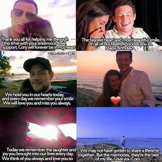 Lea's posts about Cory through the years.. [2013-2016]❤