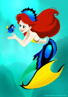 Ariel: Dory costume