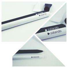 # zalando Kugelschreiber aus Papier - produziert von www.Meine-Werbeartikel.com