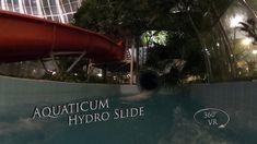 Aquaticum Hydro Slide (Blue, Night) 360° VR POV Onirde Vr, Night, Blue