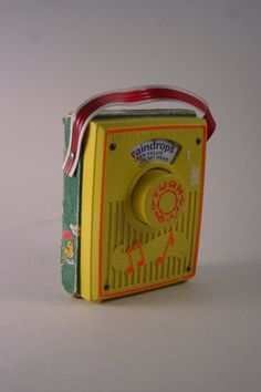 1970s Fisher Price Radio. Mine looked different but love the memory it evokes..