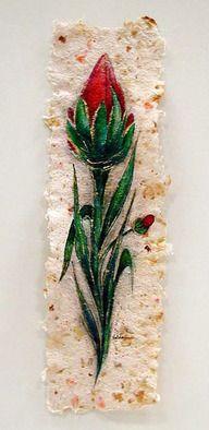 Valda Fitzpatrick Fantasy Flower imbeded in Rose Petals absolutearts.com