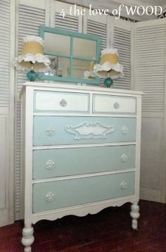 4 the love of wood: TWO COLOR DRESSER