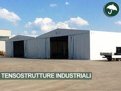 #Tensostrutture #industriali #PVC per M&D Costruzioni Meccaniche in provincia di #Piacenza