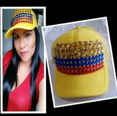 !! Bucket Hat, Crochet Hats, Beanie, Fashion, Colombian Flag, Flags, Accessories, Flowers, Knitting Hats