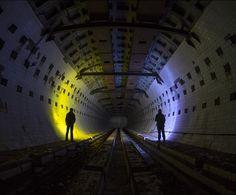 Por Dentro da Estrutura de um Laboratório Nuclear Subterrâneo Abandonado