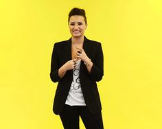 You just found out that you're dating your cousin. | 14 Insanely Specific Demi Lovato Reaction GIFs