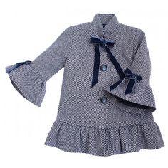 Abrigo Volante Eve Eve Children, Raincoat, Jackets, Fashion, Racing Wheel, Fashion For Girls, Wraps, Elegant, Dressmaking
