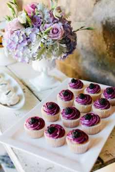 40 gorgeous bridal cupcake ideas that will make you rethink a traditional wedding cake.