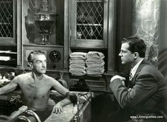 Clifton Webb and Dana Andrews in - Laura - 1944