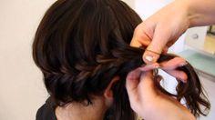 Fishtail Rope Braid for Medium Length Hair   Hair Tutorial