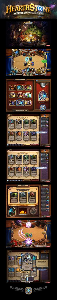 炉石传说:魔兽英雄传 暴雪[GUI] Hearthstone Heroes of Warcraft game user interface gui ui | Create your own roleplaying game material w/ RPG Bard: www.rpgbard.com | Writing inspiration for Dungeons and Dragons DND D&D Pathfinder PFRPG Warhammer 40k Star Wars Shadowrun Call of Cthulhu Lord of the Rings LoTR + d20 fantasy science fiction scifi horror design | Not Trusty Sword art: click artwork for source