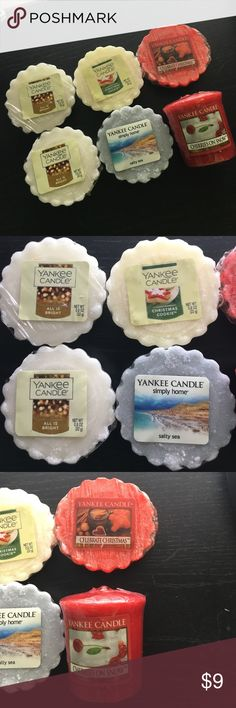 Yankee Candle Melts and Votive Never been used Yankee Candle Wax melts and votive! yankee candle Other