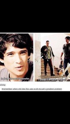 Remember when shit like this was Scott McCall's greatest problem | Teen Wolf