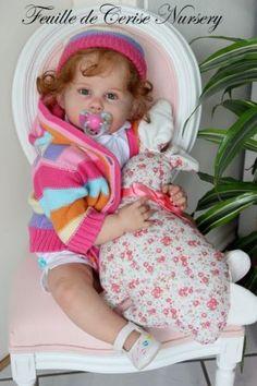 Reborn-doll-toddler-kit-George-by-Ping-Lau-micro-rooting-human-hair-VERY-CUTE