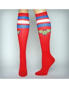 4db7cbe3a0f Wonder woman warrior juniors knee high socks Remind yourself that ...