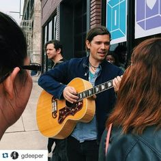 Zac with an acoustic guitar. That's the dream.