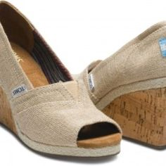 I WILL have the Toms wedge this summer.