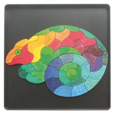Iguana Magnetic Puzzle