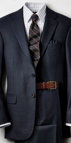 A blue/brown combination for the office.