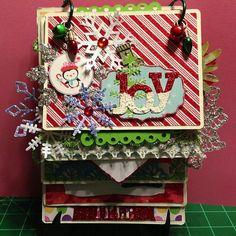 Joy Christmas Mini Album - Scrapbook.com