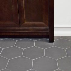 Merola Tile Hexatile Matte Gris 7 in. x 8 in. Porcelain Floor and Wall Tile (2.2 sq. ft. / pack) FEQ8HMG at The Home Depot - Mobile
