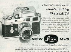 Leica M3 ad