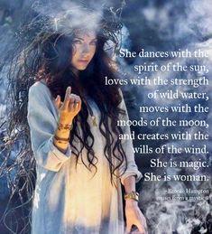She is magic...